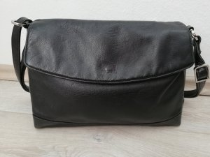 Picard Echtledertasche Crossbody-/Umhängetasche schwarz