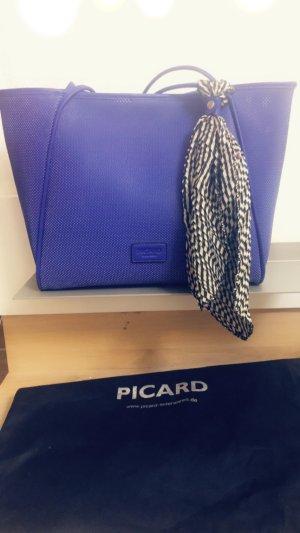 Picard Borsa shopper blu