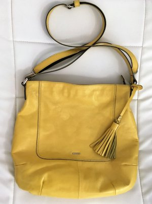Picard Shoulder Bag yellow-primrose leather