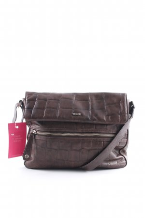 Picard Handtasche dunkelbraun Street-Fashion-Look