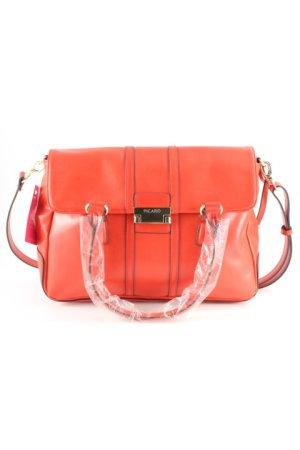 Picard Handtasche hellrot-goldfarben Street-Fashion-Look