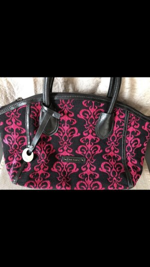Picard Handtasche Neu schwarz pink