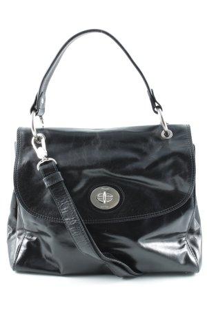 Picard Handtasche schwarz-silberfarben Casual-Look
