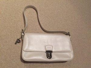 PICARD Handtasche, weißes Leder, nur 2x getragen