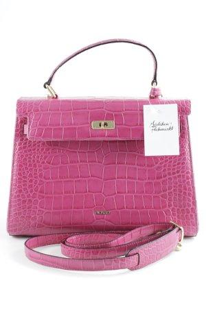 Picard Carry Bag pink animal pattern elegant