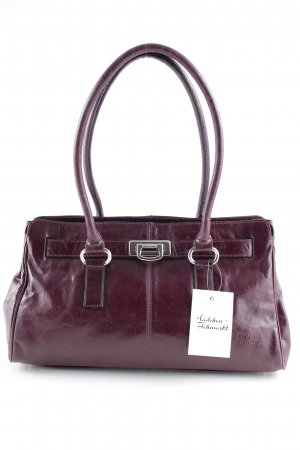 Picard Henkeltasche purpur-dunkelviolett Business-Look