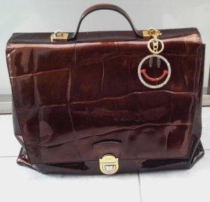 Picard Briefcase bronze-colored-brown