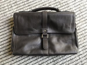 Picard Laptop bag dark grey-anthracite leather