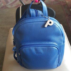 Picard Leder Rucksack blau Neu ohne Etikett