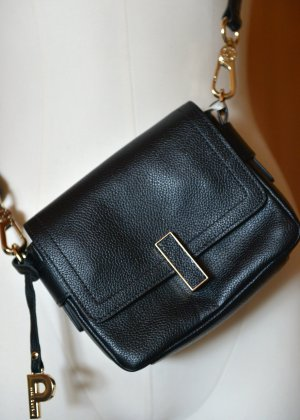 Picard Mini Bag black-rose-gold-coloured leather