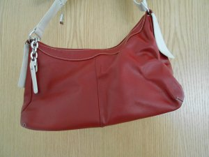 PICARD Rote Ledertasche Tasche Echtleder