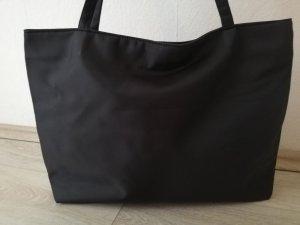 835148f3e4fac Picard Shopper in schwarz Nylon - groß genug