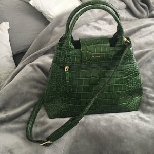 Picard Shopper Tasche Kroko Grün