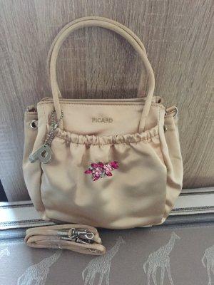 Picard - Süße kleine Handtasche / Abendtasche / Henkeltasche gold - neu