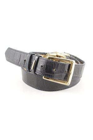Picard Cintura vita nero-oro stile semplice
