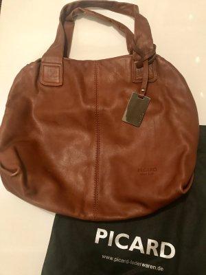PICARD Tasche - echtes Leder wie NEU!!