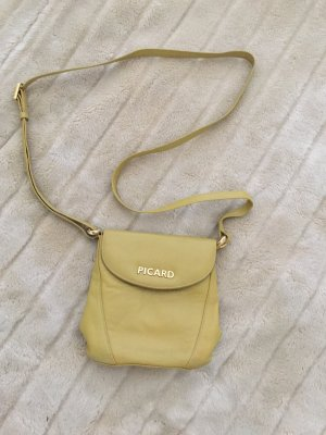 Picard Vintage Leder Handtasche pistazie