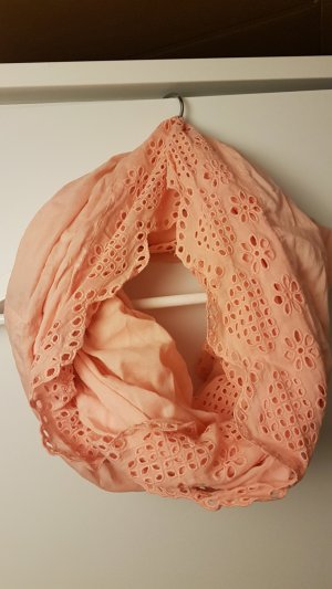 Pieces Tube Scarf apricot