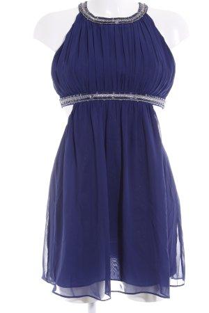 Pieces Ballkleid dunkelblau-silberfarben Elegant