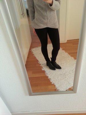 Pieces Basic schwarze Jeans Jeggings XS S Hose bequem Blogger