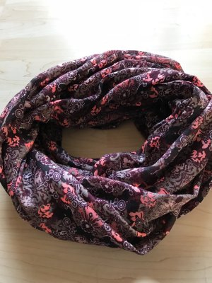 Pieces Tube Scarf purple
