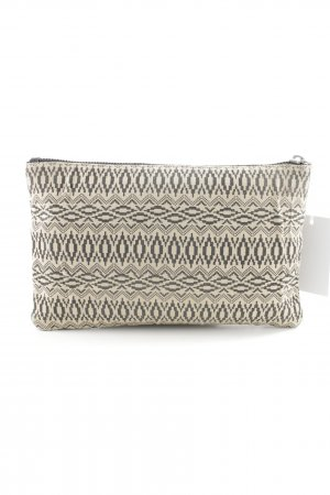 Pieces Clutch goldfarben-creme Mustermix Casual-Look