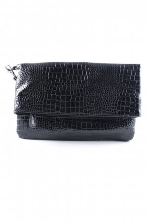 Pieces Clutch schwarz Elegant