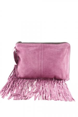 Pieces Clutch violett Boho-Look