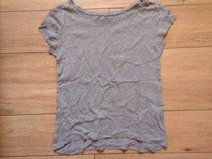 Pieces Damen Basic T-Shirt Größe S hellgrau
