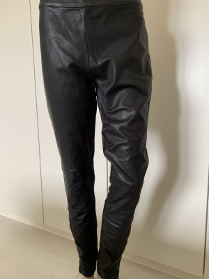 Pieces Pantalone in pelle nero