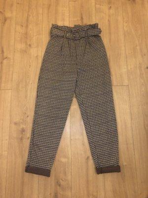 Pieces Pantalón de cintura alta multicolor