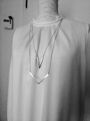 Pieces Silver Chain silver-colored