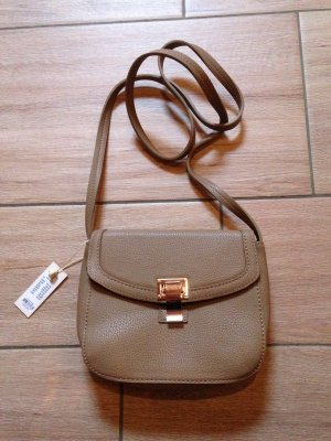 Pieces Handtasche taupe