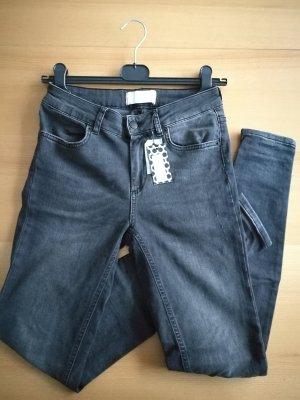 Pieces Jeans grau Neu mit Etiektt
