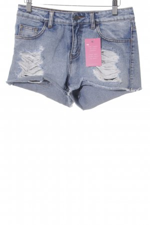 Pieces Jeansshorts himmelblau Casual-Look