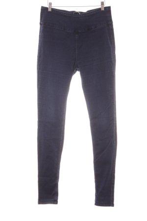 Pieces Jegging bleu foncé Aspect de jeans