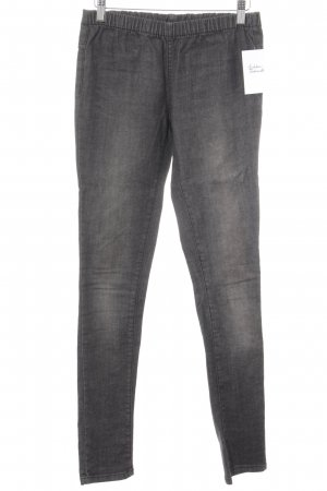 Pieces Jeggings grigio scuro stile jeans