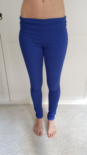 Pieces Jeggings neon blue