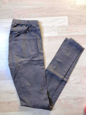 Pieces Jeggings grey brown