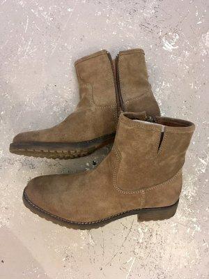 Pieces Leder Stiefel Stiefelette Boots * Neu 119,95€