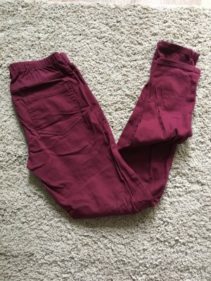 Pieces Leggings Jeggings M/L lila, aubergine, weinrot