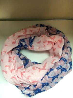 Pieces Tube Scarf light pink-blue