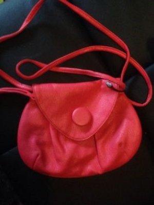 PIECES Rosa Handtasche mit großem Knopf