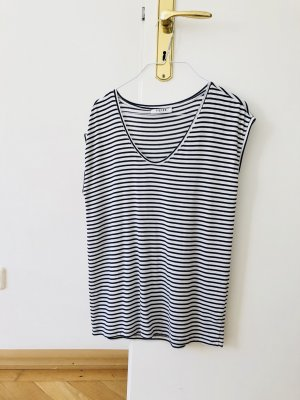 Pieces Stripe Shirt white-black