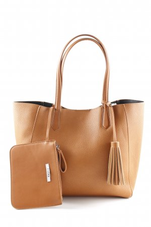 Pieces Shopper camel Casual-Look