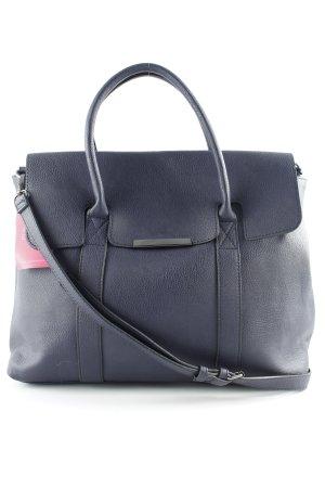 Pieces Shopper dark blue simple style