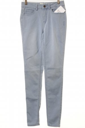 Pieces Skinny Jeans kornblumenblau Jeans-Optik