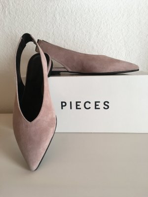 PIECES - Slingback Slippers