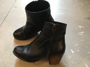 Pieces Stiefelleten Boots 37 Leder