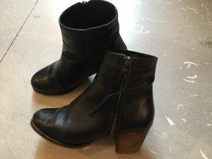 Pieces Stiefelleten Boots 37 Leder